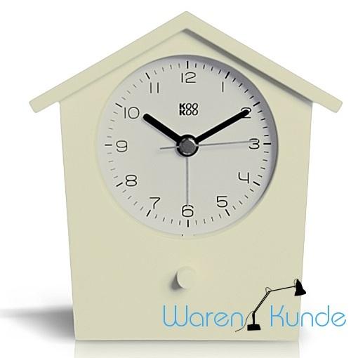 kookoo earlybird wei wecker vogelstimmen tierstimmen uhr early bird ebay. Black Bedroom Furniture Sets. Home Design Ideas