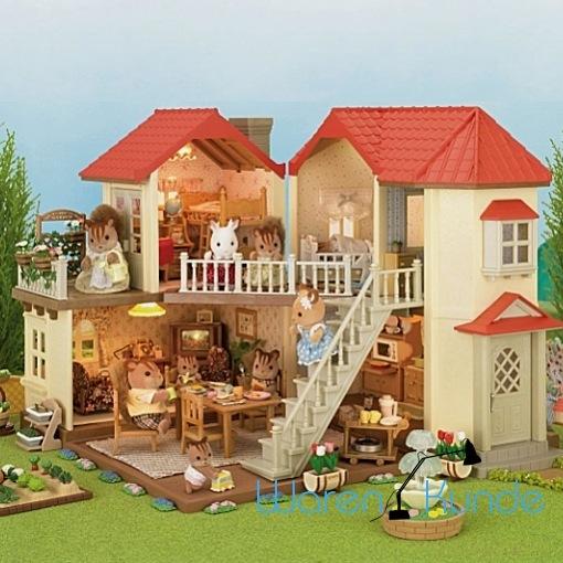 SYLVANIAN FAMILIES Stadthaus mit Licht Haus